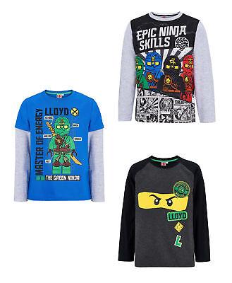 Lego Ninjago Jungen Langarmshirt Gr.104-140 Pullover Shirt langarm neu! ()