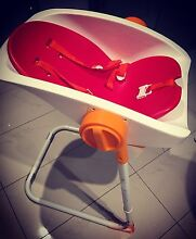 Charlichair baby shower chair + cushion/seat pad (red) St Ives Ku-ring-gai Area Preview