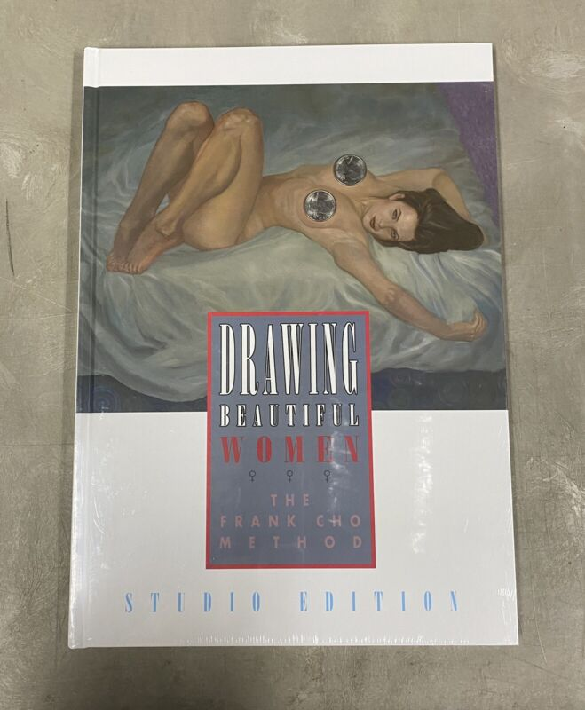 Drawing Beautiful Women The Frank Cho Method Studio Edition Flesk Oversized HC
