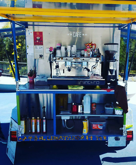 Cafe business for swap or sell. Coffee trailer. Fully equipped
