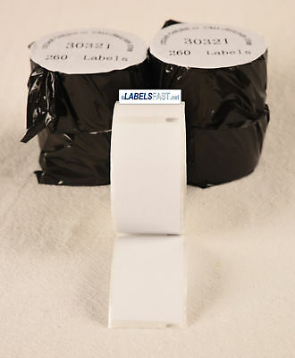 Labels 30321 Large Address Rolls White Adhesive Thermal Compatible W Dymor Xl