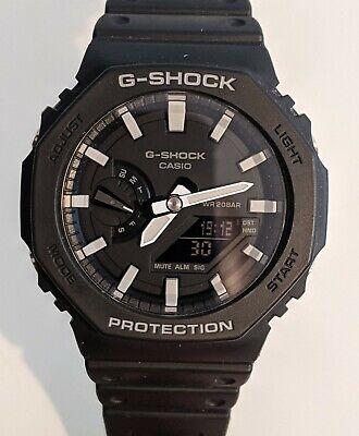 Casio G-SHOCK GA-2100-1AER black and grey - CASIOAK