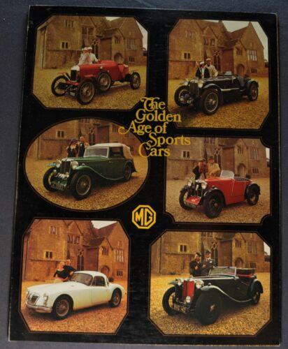 1975 MG MGB Midget MGB/GT Sales Brochure Folder Excellent Original 75