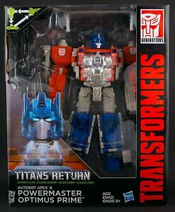 Brand New Titans Powermaster Optims Prime