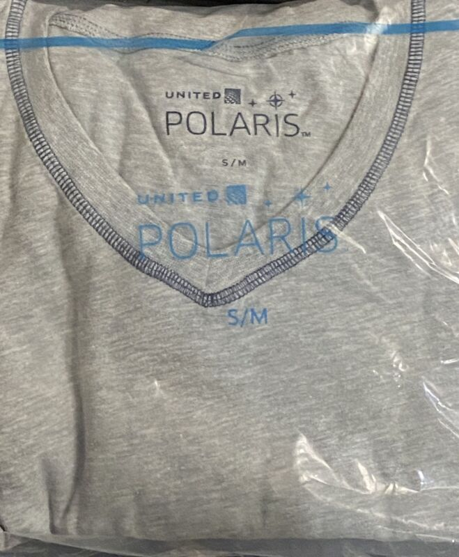NEXT DAY DELIVERY UNITED AIRLINES polaris Bundle pajama  small/medium