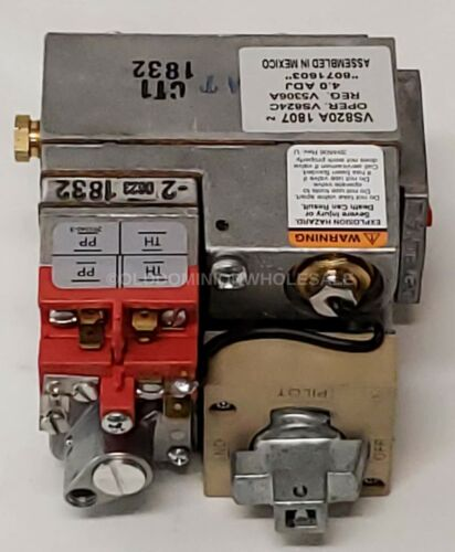 "Honeywell 8071603 - VS820A 1807 1/2"" Combination Frymaster Natural Gas Valve"