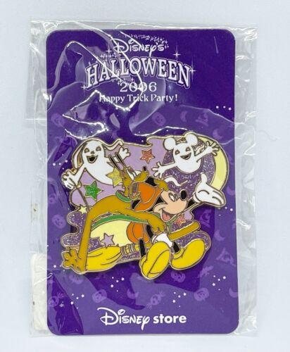 Japan Disney Store Pin 49354 JDS Halloween 2006 Happy Trick Party! Micky Pluto