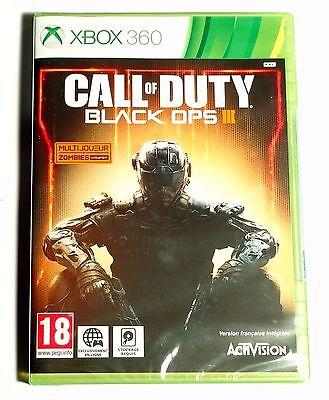 Call Of Duty Black Ops III (3) Neuf scellé sous blister d'origine...