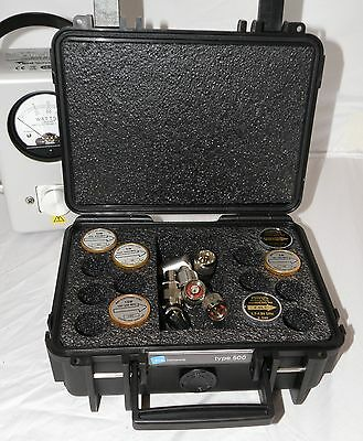 Bird 43 12 Element Case - Holds 14 Wattmeter Elements  + Adapters & Cables (New)