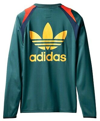 Adidas Originals x BED J.W. FORD 'Game Jersey 2' L/S Sports Jersey T-Shirt S NWT