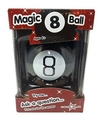 Adult Magic 8 Ball (Magic 8 Ball Fortune Future Teller Mystic Eight Ball Executive Toy Novelty)