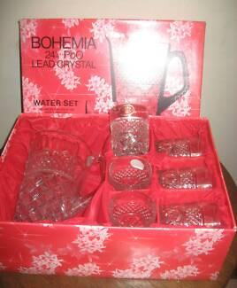 New Vintage Bohemia Water Jug Set