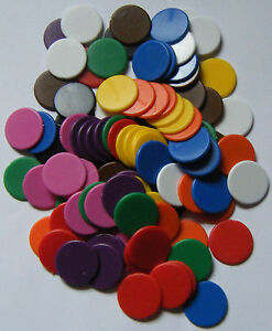 100-x-16mm-Counters-Choose-from-10-Colours-Board-Games-Tiddly-Winks-NEW
