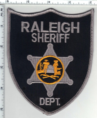 Raleigh Sheriff Dept. (West Virginia) 6th Issue Shoulder Patch