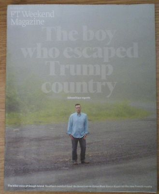 Donald Trump - FT Weekend Magazine – 28 May 2016