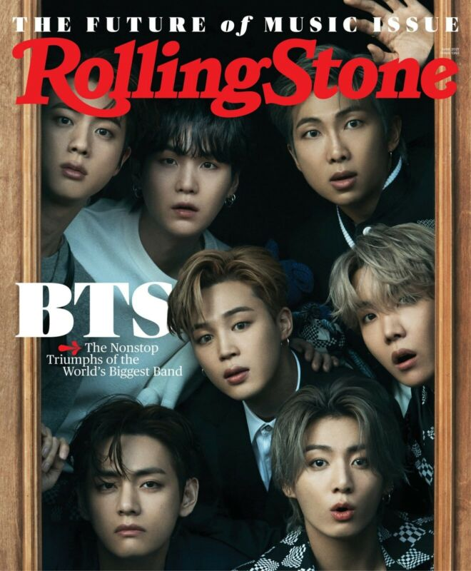 "Rolling stone June 2021 ""Presale"" Only Shipping Date June 08 2021"