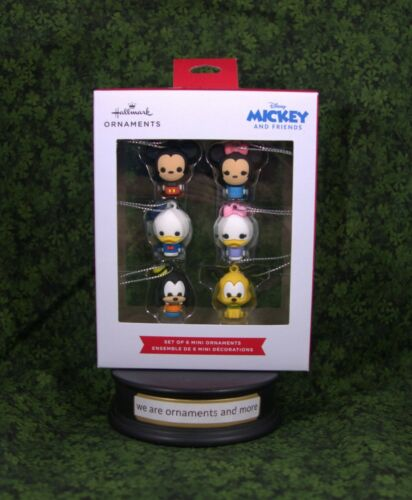 2021 Hallmark Ornament - Set of 6 Mini Ornaments - Mickey Mouse and friends
