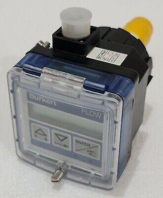 Burkert 00418762 Insertion Flow Transmitter Sn12890
