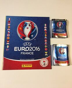Panini Euro 2016 Sticker Packs