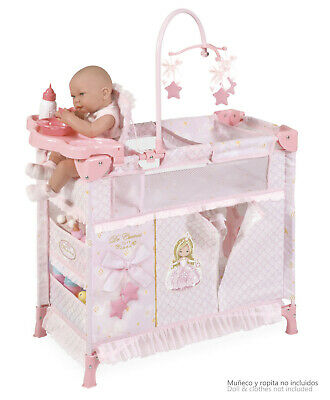 PINK Changing Travel Station cot  9x1 Include Accessories, used for sale  Shipping to South Africa