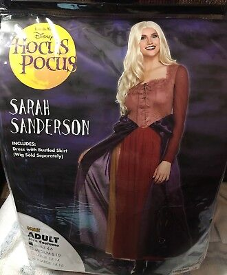 NEW HOCUS POCUS SARAH SANDERSON DRESS HALLOWEEN COSTUME ADULT NEW](Halloween Costumes Hocus Pocus)