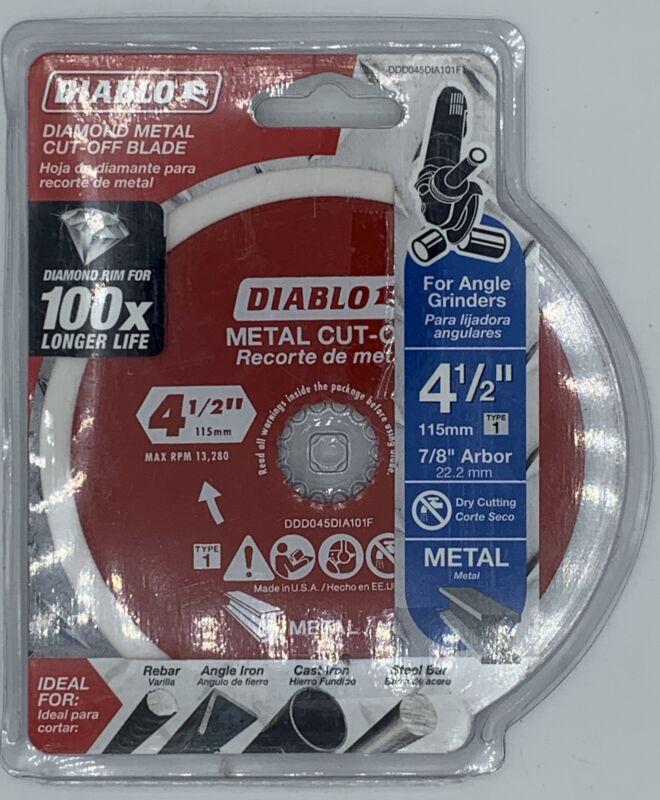 Freud-Diablo DDD045DIA101F 4.5 Diamond DISC MTL Cutting