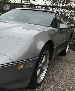 1985 Chevrolet Corvette manual with low k's