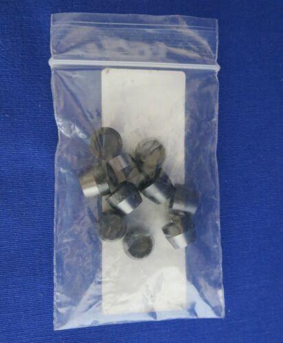 "10 Vespel Graphite Ferrules ¼"" 6.35mm ID HP Agilent P/N 5080-8774"