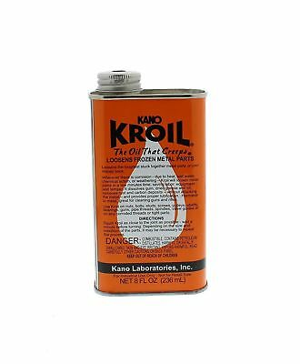 Kano Kroil Penetrating Oil 8 Oz. Liquid Kroil New