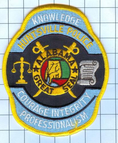 Police Patch  - Alabama - HUNTSVILLE