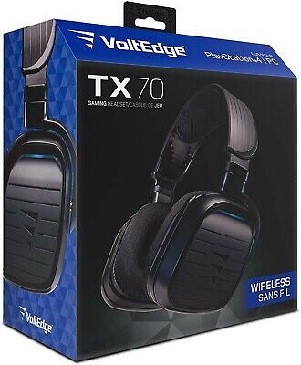 VOLTEDGE TX70 WIRELESS Gaming Headset (Playstation 4 / PS4) - Sealed - Free Ship