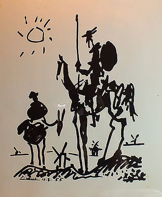 Don Quixote, c.1955 Framed Art Print by Pablo Picasso 25 x 31 buy it now $70 OFF