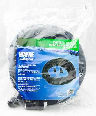 - Wayne Universal Flexible Sump amd Utility Hose Cuff Adapter Clamp Kit