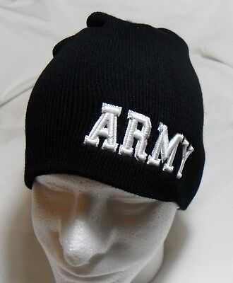 c5caf26a1864e U.S. Army Logo Watch Cap Beanie Winter Ski Hat Toboggan Officially Licensed
