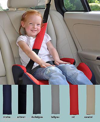 Gurtpolster KFZ  für Autositz Gr. 2 und 3 Gurtschoner Erwachsene Kinder Polster