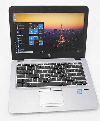 HP EliteBook 820 G4 Laptop: 7th Gen Core i5, 240GB 8GB Warranty VAT (Grade B)