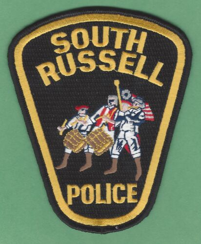 SOUTH RUSSELL OHIO POLICE SHOULDER PATCH