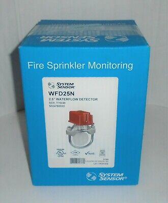System Sensor Wfd25n 2.5 Waterflow Detector Fire Sprinkler Monitoring Brand New