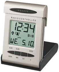 WT-2160U La Crosse Technology Atomic Digital Folding Travel Alarm