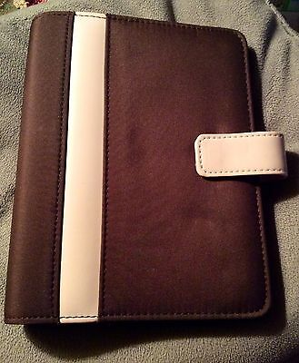 6 Ring Compact Binder Organizer - Franklin Covey Compact 365 Brown Pink 6 - 1 inch Ring Binder Planner Organizer