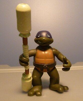 Purple Ninja Turtle Name (2004 Teenage Ninja Turtle Toddler Small / Mini Donatello Purple Figure)