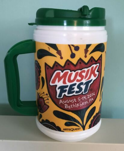 Musikfest Collectors 2016 Beer Mug from Bethlehem, PA.