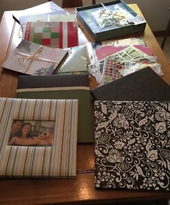 Scrapbooking supplies selling as ONE lot