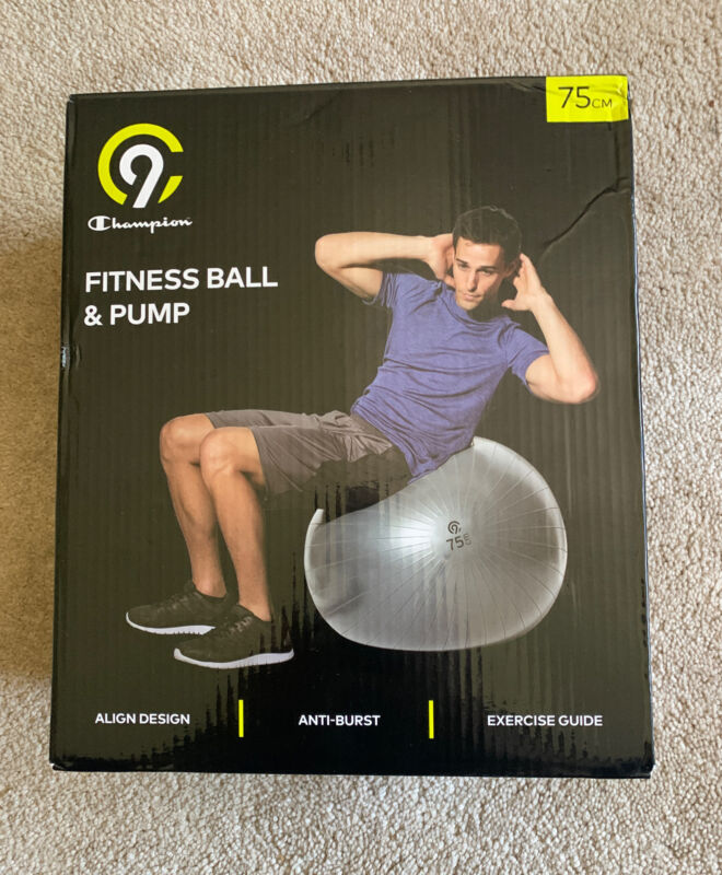 C9 Champion Fitness Ball & Pump 75cm