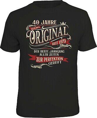 T-Shirt  Geschenk 40 Jahre Geburtstag  Jahrgang 1979   Gr. S - XXL Neu 6316 ()