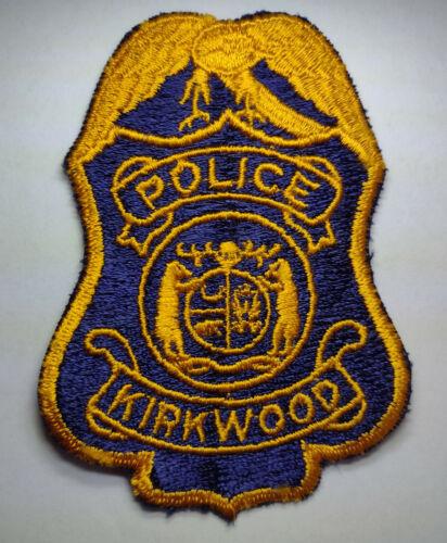 VINTAGE Kirkwood Missouri Police Patch // FREE US SHIPPING!