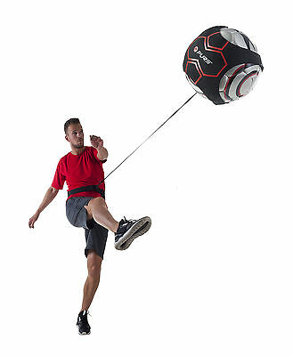 Pure2Improve Football SkillsTrainer Kick Solo Training Practice Aid Waistband