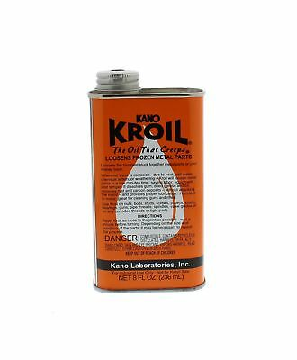 Kano Kroil Penetrating Oil 8 Oz. Liquid - Oil That Creeps And Loosens Bolts