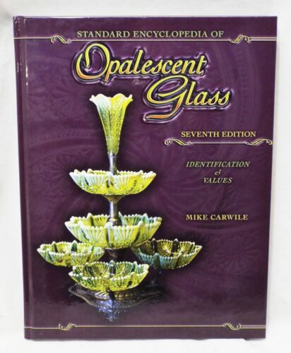 OPALESCENT GLASS Price Guide & Identification Guide BOOK Mike Carwile