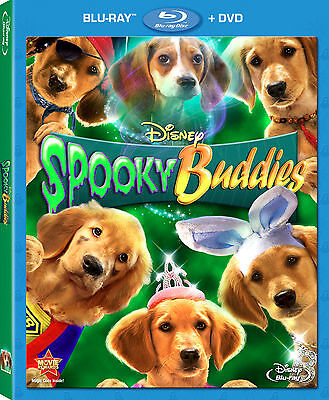 Disney Dog Halloween Movie Spooky Buddies Blu-ray DVD Combo Pack with Slipcover - Halloween Movie Disney